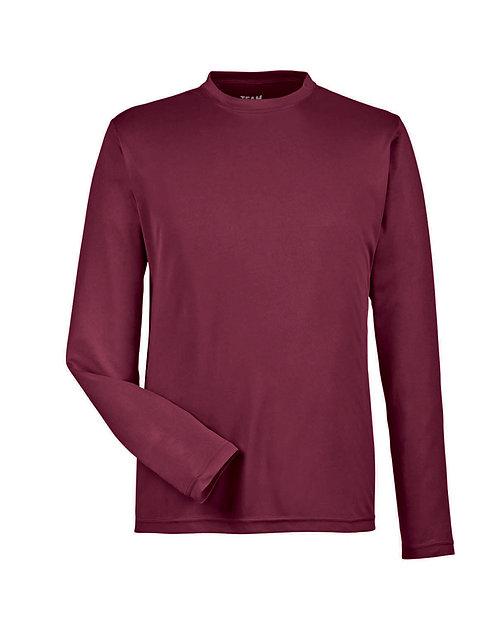 Team 365 Maroon Long Sleeve Shirt - Size Adult XL