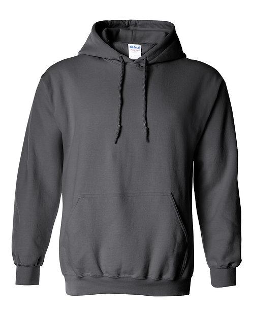 Gildan Charcoal Hoodie - Adult S