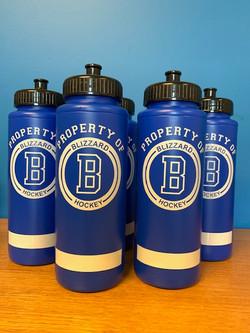 Blizzard Hockey Water Bottle