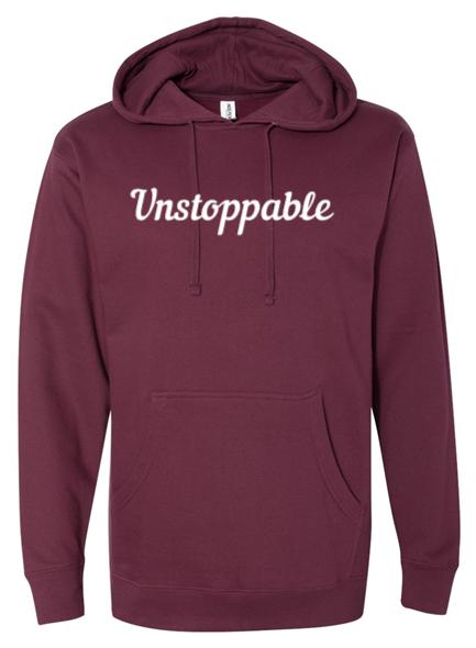 Unstoppable Hoodie - Maroon