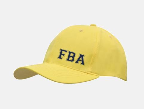 FBA Yellow Ball Hat