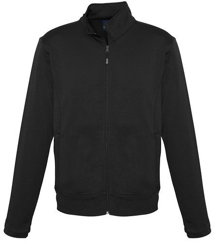 Biz Black Zip Up Sweater - Size Adult L