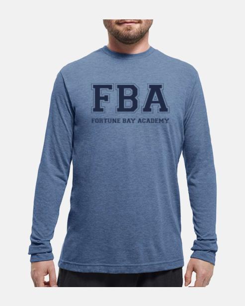 FBA Navy Long Sleeve Tee