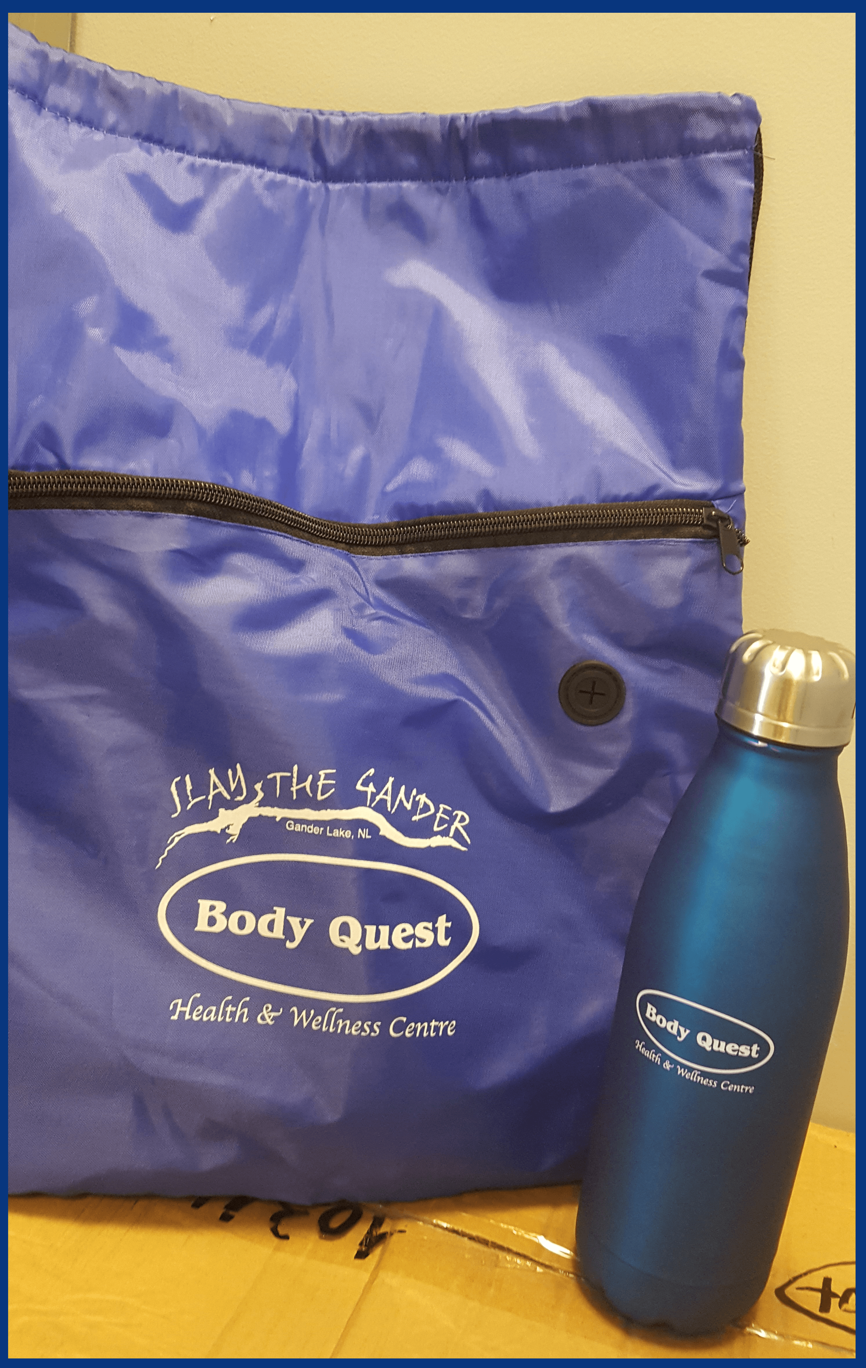 Tote and Water Bottle
