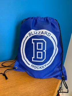 Blizzard Hockey Cinch Bag