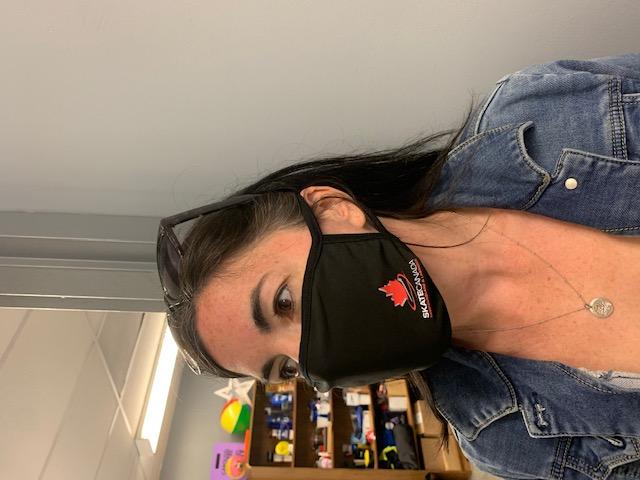 Skate Canada Face Mask