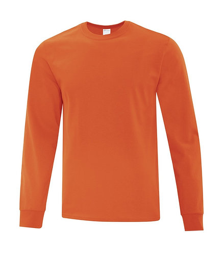 ATC Orange Long Sleeve Shirt - Size Adult 4XL