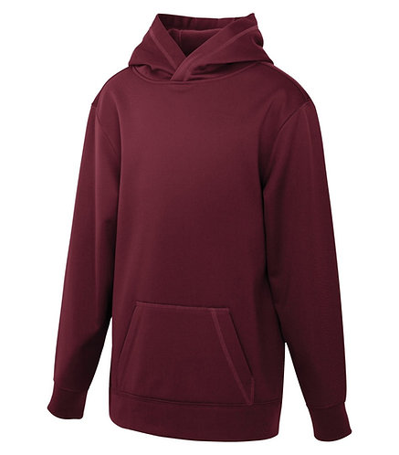 ATC Maroon Hoodie - Size Youth XL
