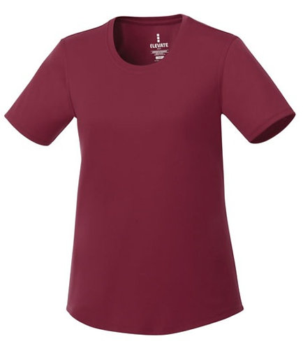 Elevate Maroon Shirt - Size Ladies M