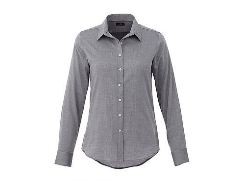 Elevate Grey Dress Shirt - Size Ladies S