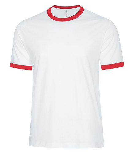 ATC White/Red Shirt - Size Adult S