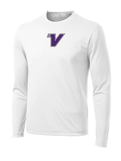 VISION LONG SLEEVE TEE - WHITE