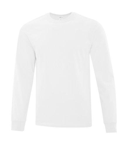 ATC White Long Sleeve Shirt - Size Adult L