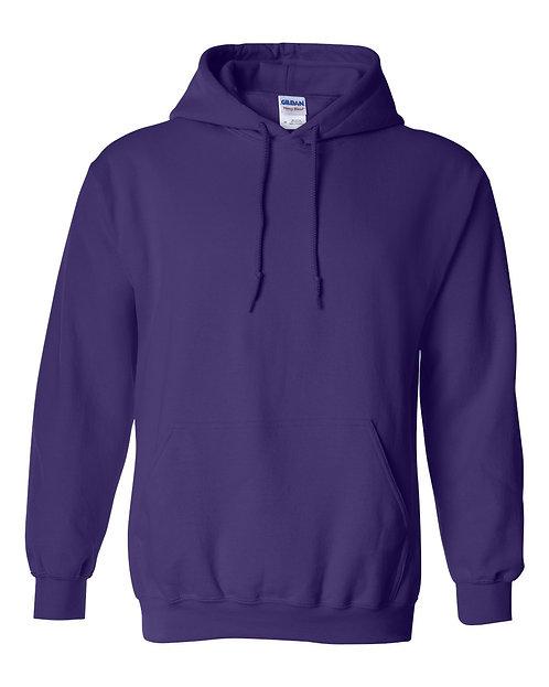 Gildan Purple Hoodie - Adult 5XL