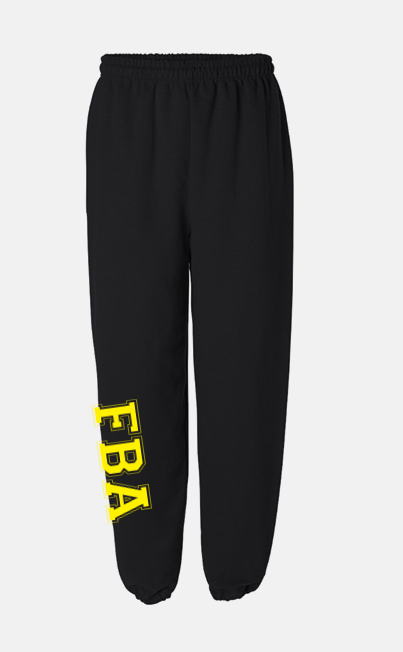 FBA Black Sweatpants