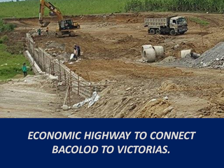 Economic Highway to Connect Bacolod to Victorias