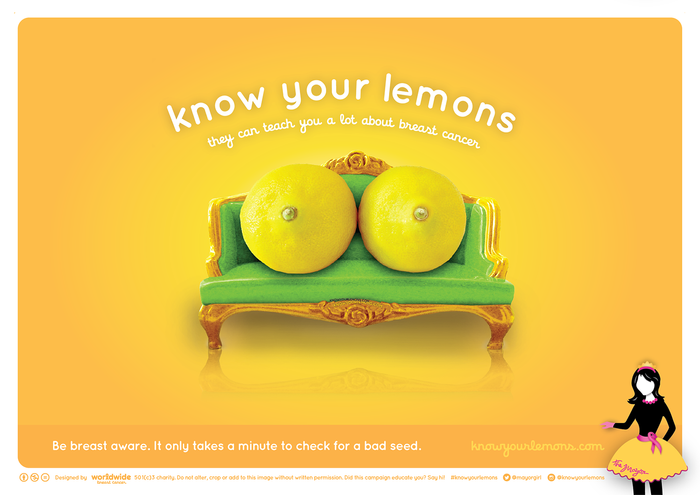 BREAST CANCER: #KNOWYOURLEMONS