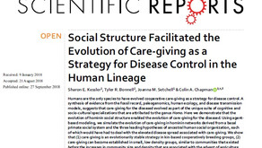 Human Social Structure Facilitated the Evolution of Care-giving