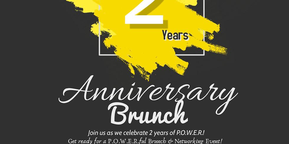 P.O.W.E.R., Inc. Community 2 Year Anniversary