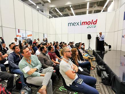 Meximold contará con conferencias técnicas especializadas en moldeo por inyección de plásticos.
