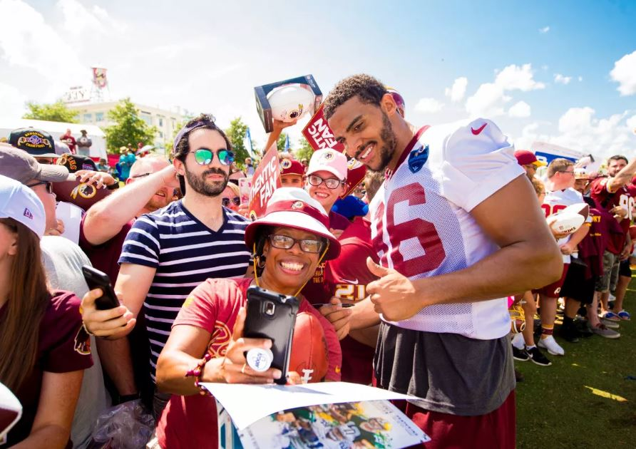 2018 Redskins Training Camp