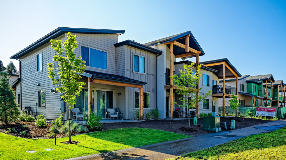 A view of your Parkside Paradise and adjacent community