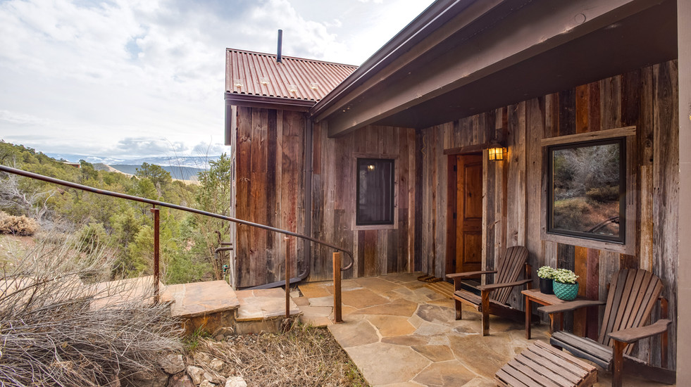 Your entrance and front porch.