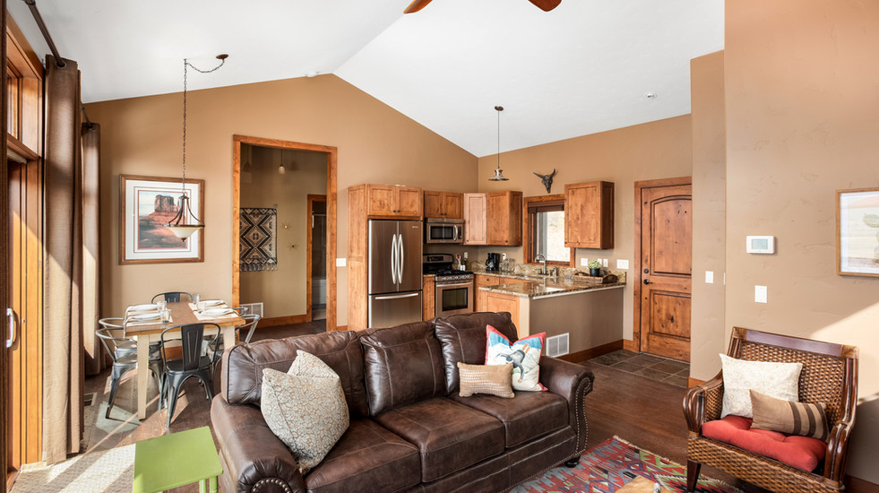 Spacious and comfy Sopris Sundeck!