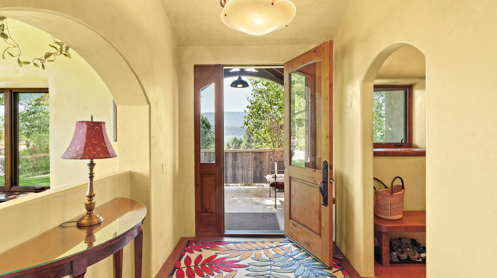 Entryway to your retreat