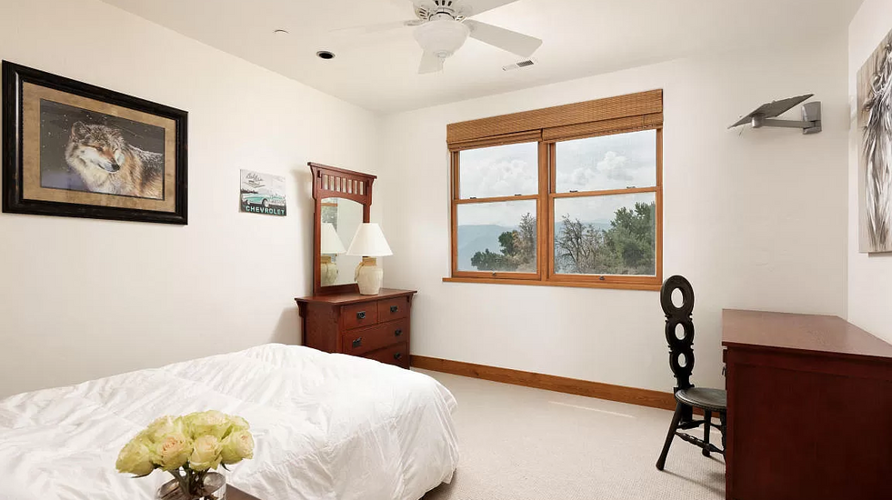 One of your four guest bedrooms