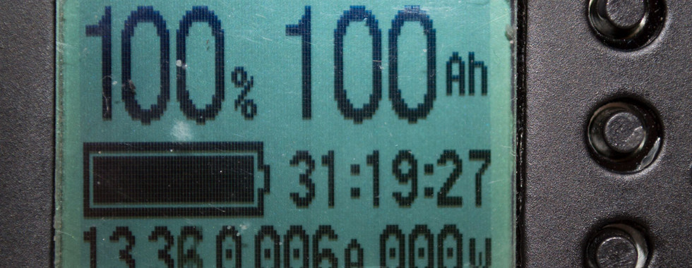 Close-up of Ion-Ready LCD