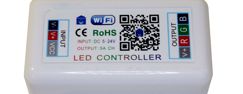 LED Strip Wifi Controller