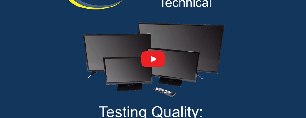Video: TV quality testing