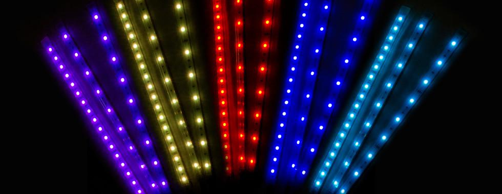LED Strip color range demo