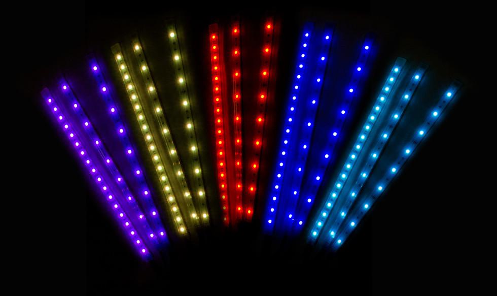LED Strip color demo