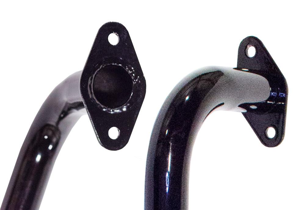 Grab handle weld