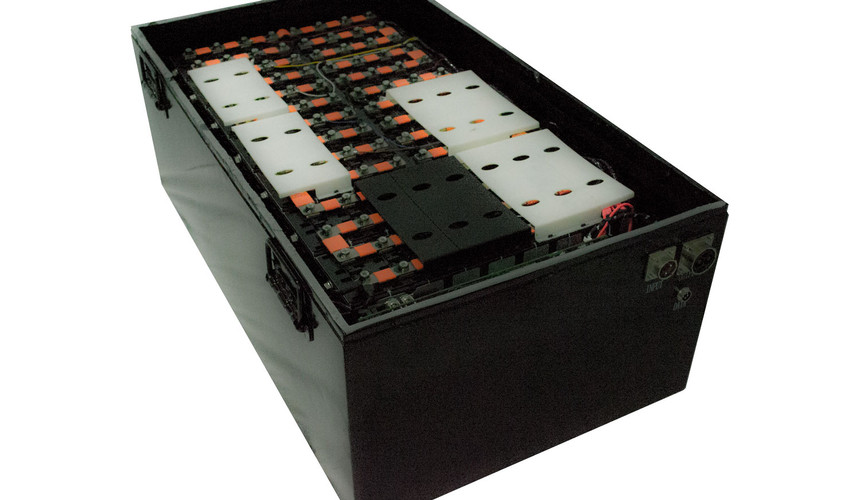 Lithium Ion Battery Bank, Interior