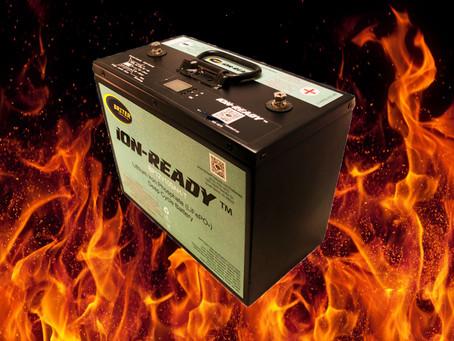 Tougher Than Fire: Briter Batteries Still Working After Fire Damage