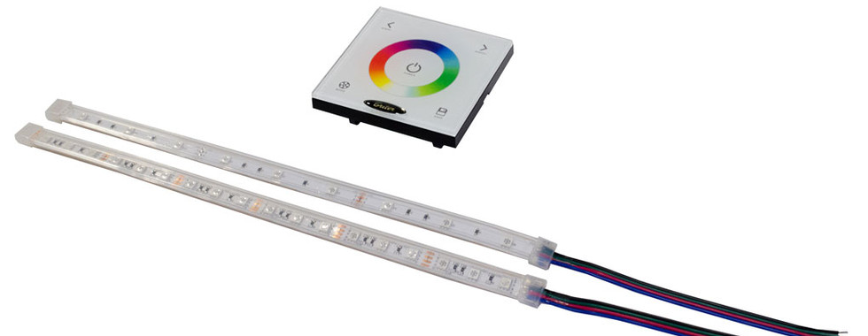 LED Strip with touch panel