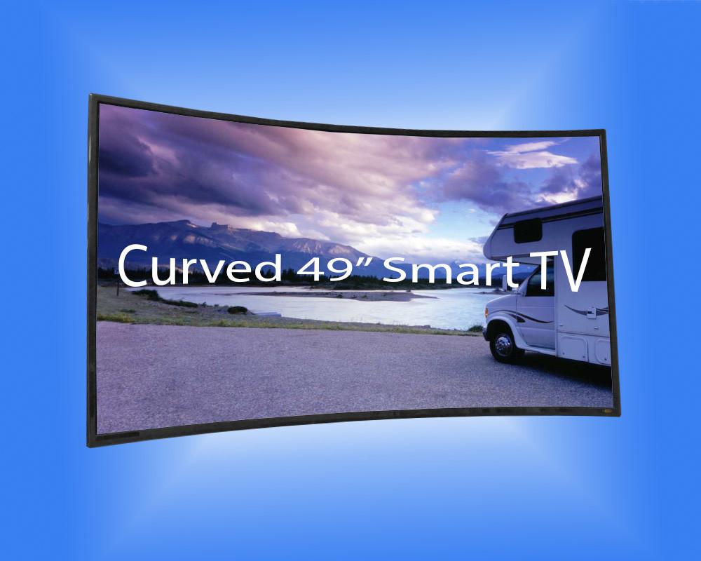 "49"" Curved Smart TV"
