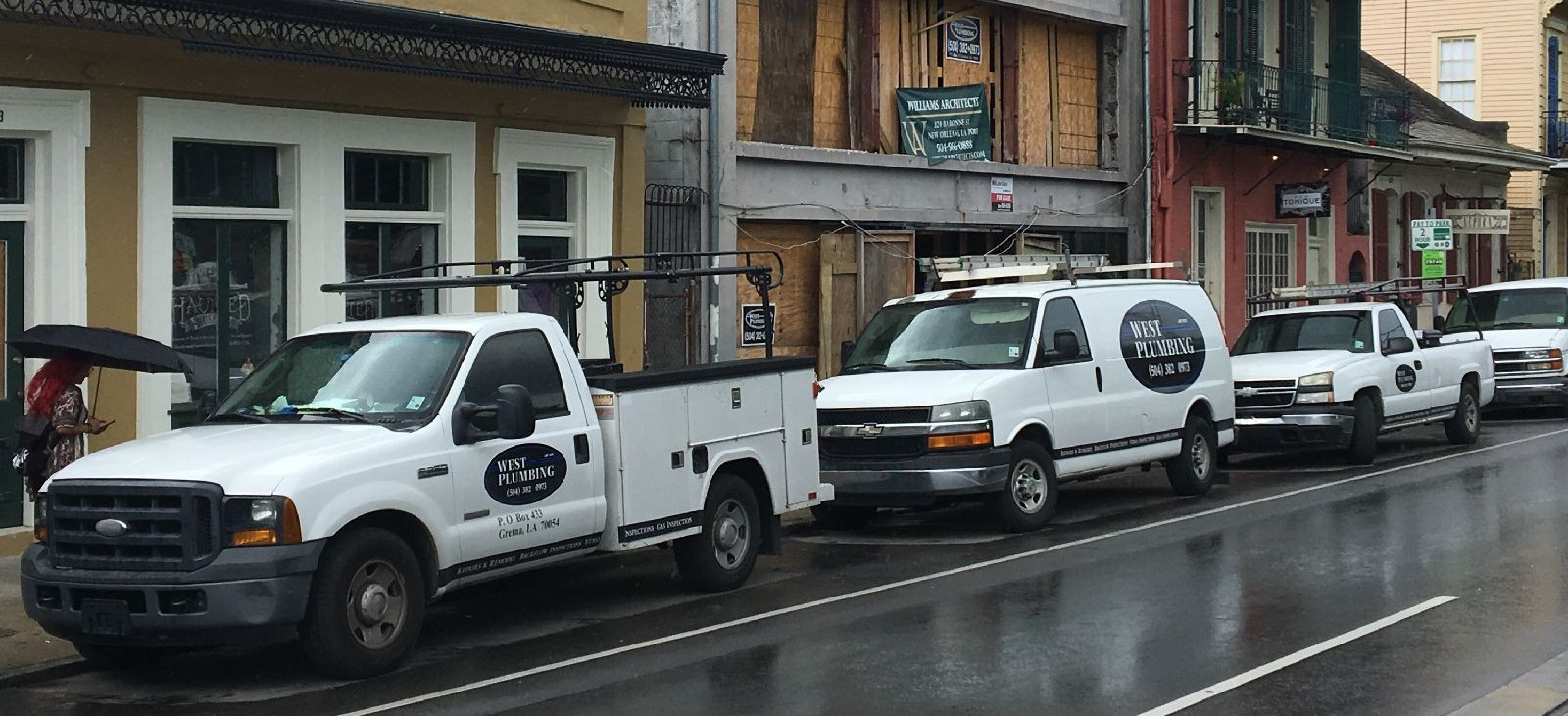 Plumbing job in New Orleans