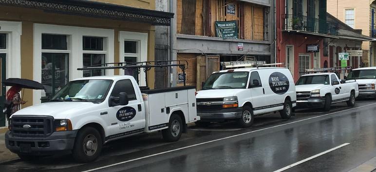 Plumbing job in New Orleans