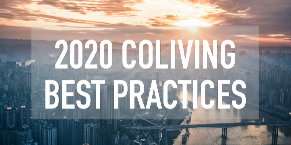 Coliving Best Practices for 2020