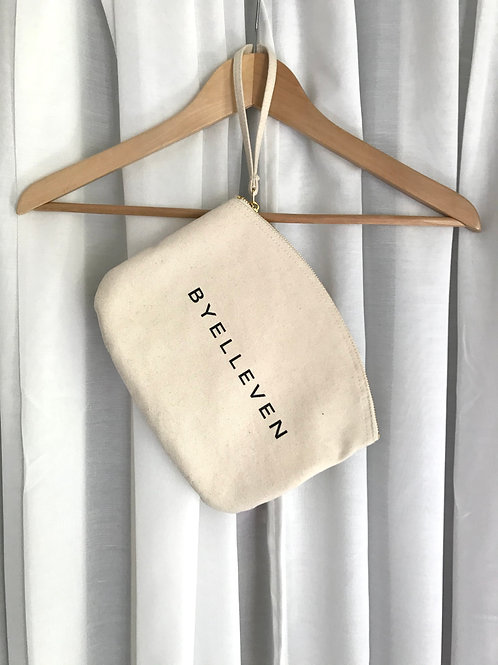 BY11 Organic Cotton Essential Pouch - Natural