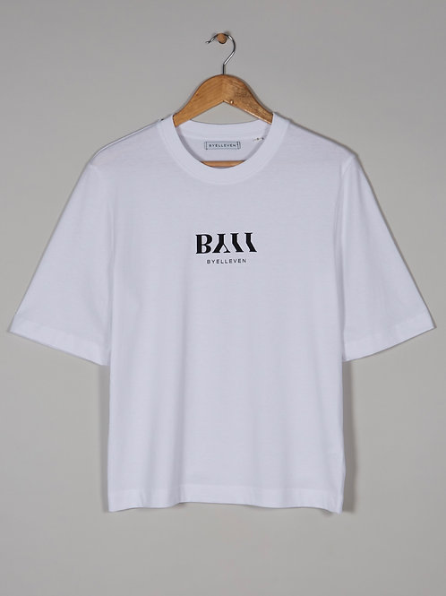BY11 Organic Cotton Easy Fit T-shirt - White