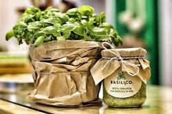 Pesto genovese con basilico di Pra