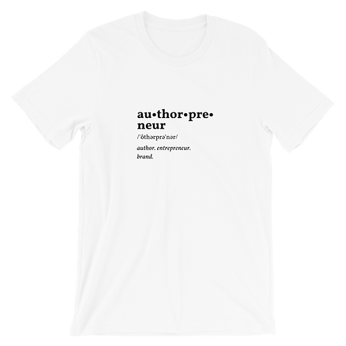 Authorpreneur Adult Short-Sleeve Unisex T-Shirt
