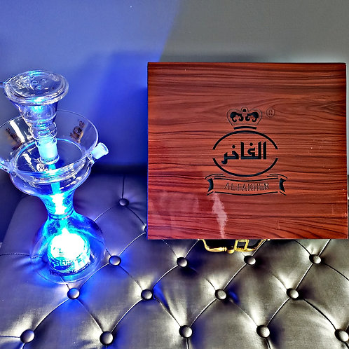 Glass Special with Wood Grain Case