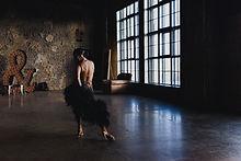 Female Dancer in Studio
