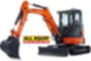 A mini excavator rental available near Draper, UT